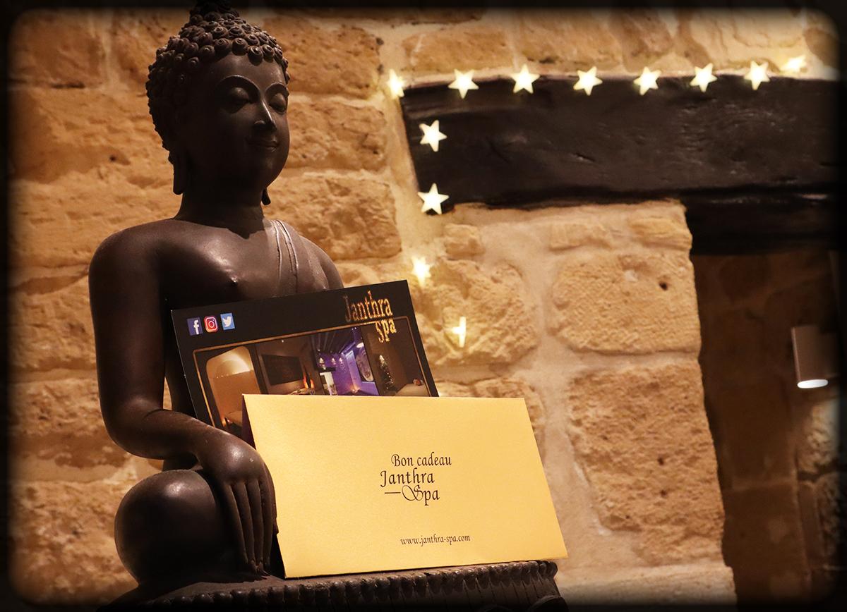 Janthra Spa bon cadeau massage